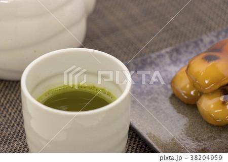 みたらし団子 お茶 38204959