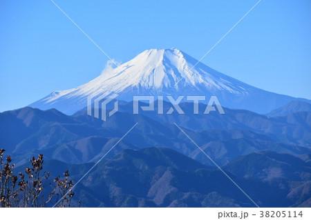陣馬山から見た富士山 38205114