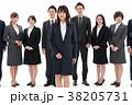 ビジネスマン ビジネスウーマン 同僚の写真 38205731