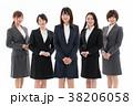 ビジネスウーマン キャリアウーマン 同僚の写真 38206058
