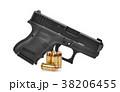 ハンドガン 銃 拳銃の写真 38206455