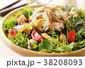 サラダ 鶏肉 ささみの写真 38208093