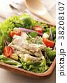 サラダ 鶏肉 ささみの写真 38208107