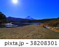 西湖根場浜からの富士山 2018/02/14 38208301