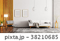 Interior of modern living room 3d rendering 38210685