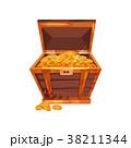 コイン 硬貨 黄金のイラスト 38211344