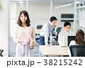 ビジネスウーマン オフィス オフィスカジュアルの写真 38215242