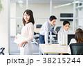 ビジネスウーマン オフィス オフィスカジュアルの写真 38215244