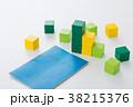 積み木 ブロック 積立の写真 38215376