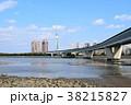 福岡タワー 室見川 都市高速の写真 38215827