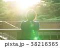 女性 パワー 太陽の写真 38216365