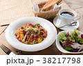 パスタ 野菜 ローマの写真 38217798