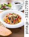 パスタ 野菜 ローマの写真 38217799