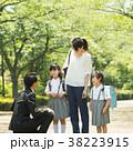 登校 小学生 新入生の写真 38223915