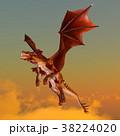 竜 龍 cgのイラスト 38224020