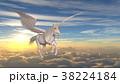 cg 天馬 ペガサスのイラスト 38224184