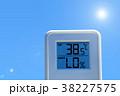 夏のイメージ_真夏、猛暑_温度計 38227575