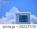 夏のイメージ_真夏、猛暑_温度計 38227576