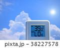 夏のイメージ_真夏、猛暑_温度計 38227578