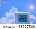 夏のイメージ_真夏、猛暑_温度計 38227580