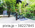 都市風景 オフィスビル 緑の写真 38227845