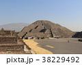 テオティワカンの月のピラミッド 世界遺産 メキシコ 38229492