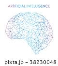 人工知能 AI テクノロジーのイラスト 38230048