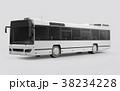 バス 立体 3Dのイラスト 38234228
