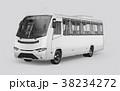 バス 立体 3Dのイラスト 38234272