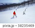 スキー場 38235469
