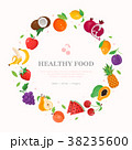 Healthy food - modern colorful vector illustration 38235600