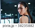人物 女性 フィットネスの写真 38235882