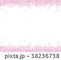 桜 背景 花のイラスト 38236738