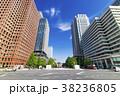 高層ビル ビル オフィス街の写真 38236805