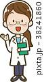 ベクター 女性 ポイントのイラスト 38241860