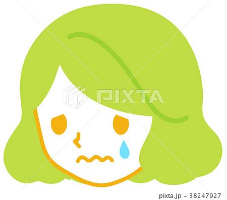 女性-泣く 38247927
