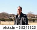 おじいさん シニア 人物の写真 38249323