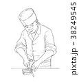 和食の調理師 38249545