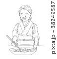小料理屋の女将さん 38249587
