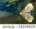 滝 濃溝の滝 亀岩の洞窟の写真 38249629