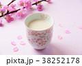桃の節句 桃 甘酒の写真 38252178