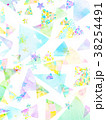 水彩 模様 壁紙のイラスト 38254491