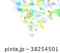 水彩 模様 壁紙のイラスト 38254501