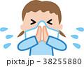 鼻をかむ 子供 イラスト 38255880