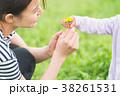春 親子イメージ  38261531