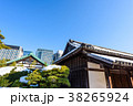 瓦屋根 日本家屋 冬の写真 38265924