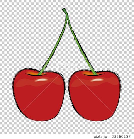 水果 矢量 樱桃 38266157