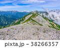 山 山岳 稜線の写真 38266357