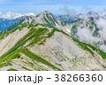 山 山岳 稜線の写真 38266360