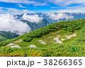 山 山岳 稜線の写真 38266365